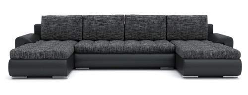 Sofini Ecksofa Tokio III mit Schlaffunktion! Best ECKSOFA! Couch mit Bettkästen! (Lawa 17+ Soft 11)