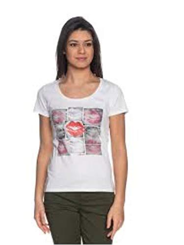 Liu Jo Jeans Liujo - Camiseta blanca de manga corta WA0126J5003