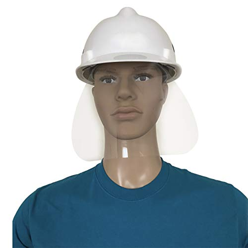 in budget affordable 25 Pack PPE Helmet Type Face Protection with 3M Adhesive Tape – Full Face Mask…