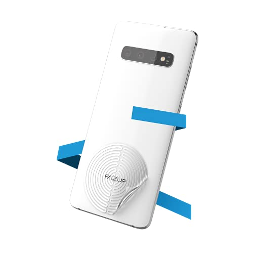 FAZUP - Patch Anti Ondes Portables - Protection Électromagnétique EMF, Anti Radiations - Réduit Jusqu'à 96% Votre Exposition aux Ondes - Fabriqué et Testé en France