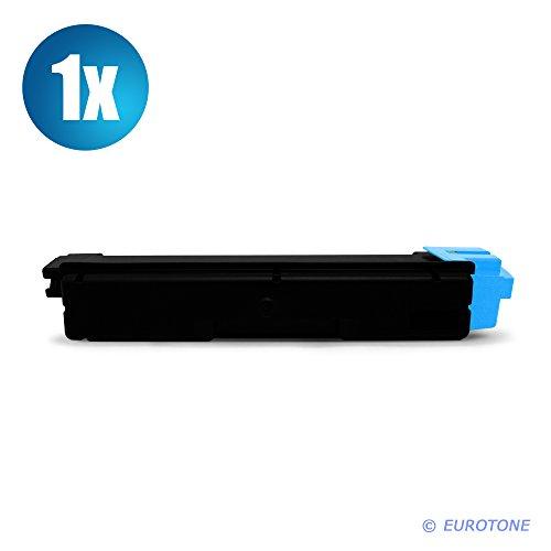 EOS-Toner TK-590 Cyan XXL für Kyocera FS-C 2026 MFP + FS-C 2126 MFP + FS-C FSC 5250 DN - Alternative ersetzt TK590C TK-590C