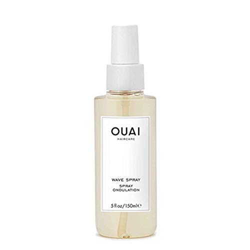 OUAI Wave Spray. For Perfect Yet Effortless Beachy Waves. The Wave Spray Adds Texture, Body and Shine and is Safe for Color- and Keratin-Treated Hair. Free from Parabens and Sulfates (5 oz)