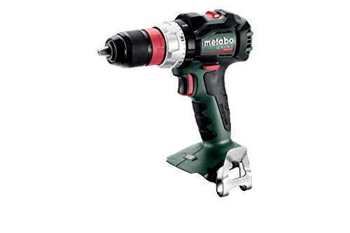 Metabo Akku Bohrschrauber BS 18 L BL Q (ohne Akku, 18 V, mit LED-Licht, Drehmoment 0,7-8 Nm, Bohrfutterspannweite 1,5 – 13 mm, Akkuschrauber mit Schnellwechselbithalter) 602334890