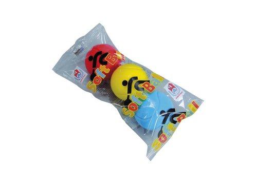 Simba 107354316 - 3 Softbälle, Ersatzbälle Softball-Tennis, Durchmesser 70mm