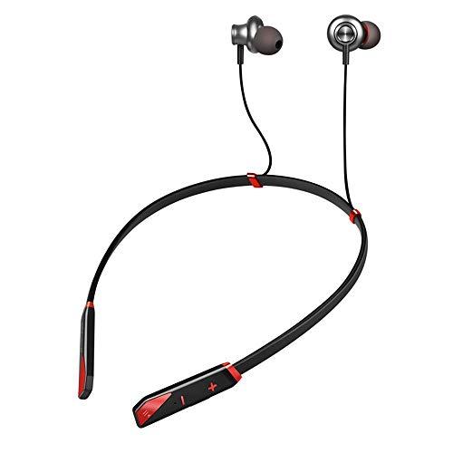 Draadloze hoofdtelefoon na externe Bluetooth 4.2 hoofdtelefoon draadloos met bewegingssensor lamp om op te hangen, met bluetooth headset voor het trainen van de loopband voor hardloopsport en gym.