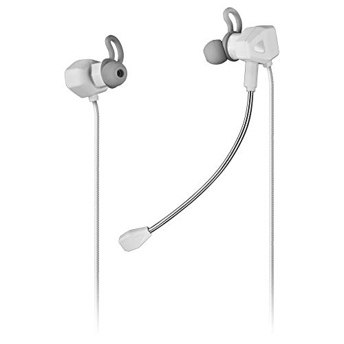 Mars Gaming MIHXW Blanco, Auriculares In-Ear, Micrófono, PS4 PS5 XBOX SWITCH PC
