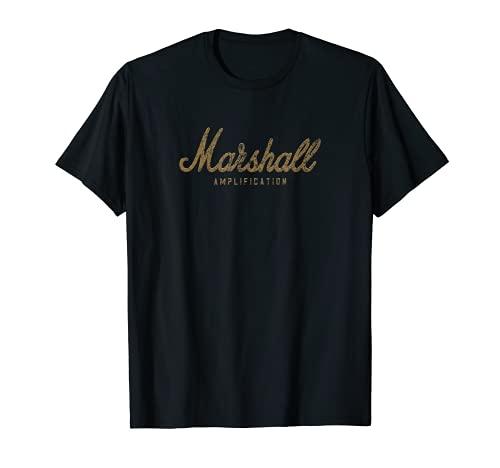 Regalo de amplificación de diseño desgastado de Marshall Camiseta