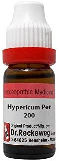 Dr. Reckeweg Hypericum Perforatum 200 CH (11ml) - Pack Of 1 Bottle & (Free St. George's Homeopathic ALOE VERA OINTMENT (1 ...