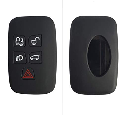 CK+ - Funda de silicona para llave de coche Land Rover Evoque Velar Discovery Sport Range Rover –