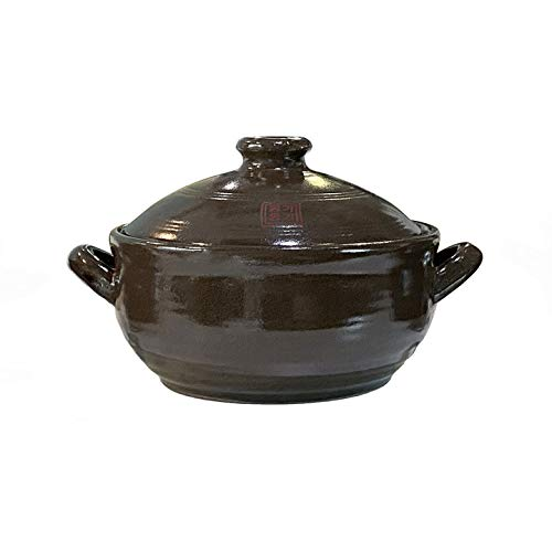OnggiJonggi Korean Earthenware Clay Hot Pot (1400ml)