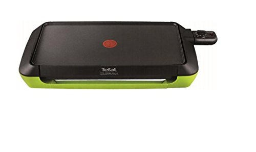 Tefal CB660301 Plancha Colormania Plaque Anti-Adhsive...