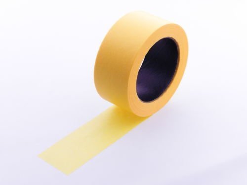 """2pk 2"""" x 60 yd Yellow Painters Tape PROFESSIONAL Grade Delicate Surface Fine Masking Edge Trim Easy Removal (48MM 1.88 in) Photo #2"""