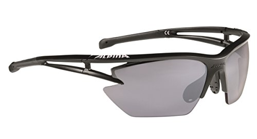 ALPINA Erwachsene Eye-5 HR S cm+ Outdoorsport-Brille, Black Matt, One Size