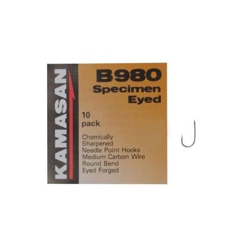 Kamasan B980 Specimen Eyed Micro Barbed Hooks