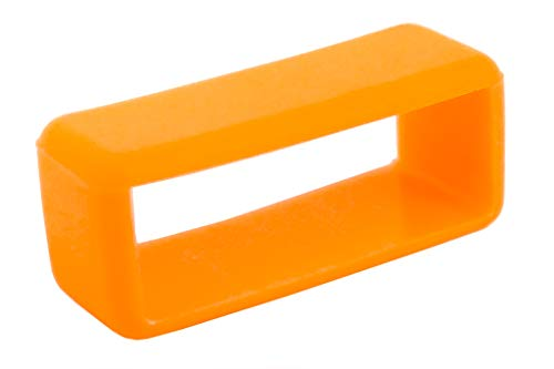 United Colors of Benetton Kunststoffschlaufe neon-orange | für Kunststoff-Uhrenarmbänder 32775