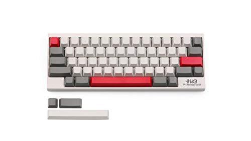 Ec Blank Gray Milky Keycap Pbt Oem 63 Keys Within Red Esc Enter