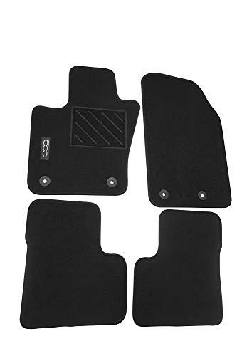 Mopar Authentic Accessories 71807502 Alfombrillas de moqueta para Coche. Color Negro