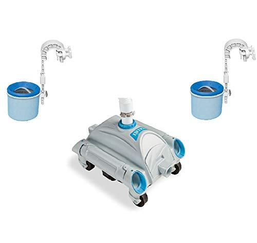 above ground pool vacuums Intex Automatic Above-Ground Pool Vacuum w/Automatic Skimmer (2 Pack)