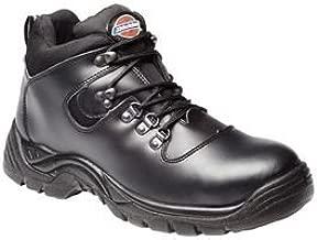 Dickies FA23380A - Calzado de protección, Hombre, Negro (Black), 43