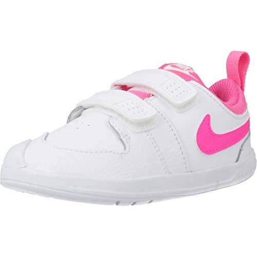 Nike Pico 5 (TDV), Scarpe da Ginnastica Bimbo 0-24, White/Pink Blast, 25 EU