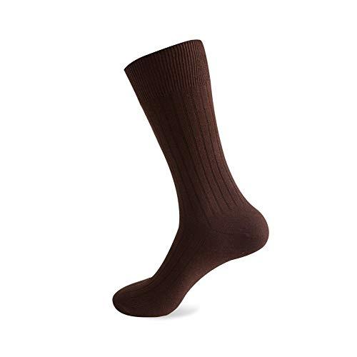 Clásico Transpirable Cómodo Calcetines de vestir 1 Cojín de algodón Par larga de los hombres Calcetines, atlético calcetín No-Show tobillo que absorbe la humedad Casual Botas de trabajo Calcetines