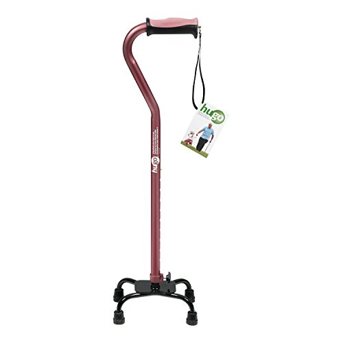 Hugo Adjustable Quad Cane for...