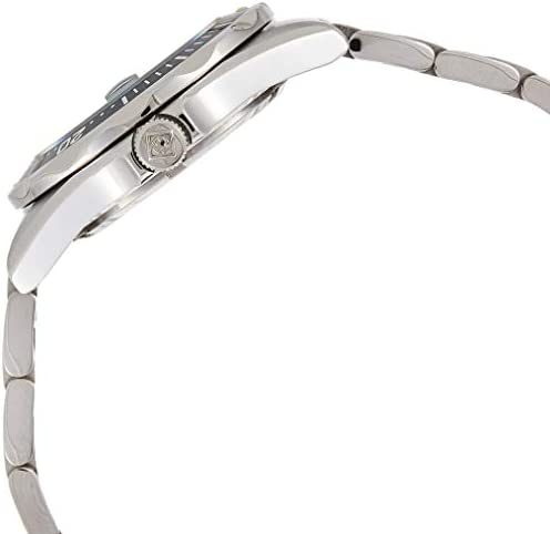 silver-tone stainless steel band