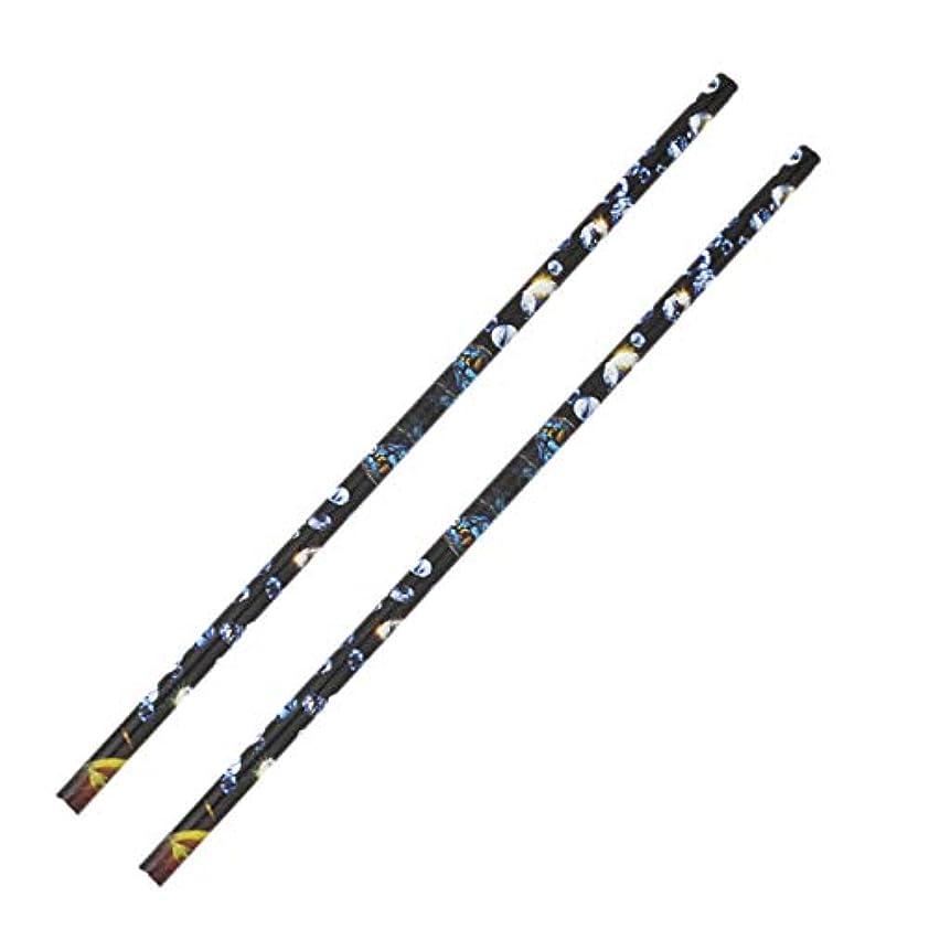 非常に嫌い収入TOOGOO 2個 クリスタル ラインストーン ピッカー鉛筆ネイルアートクラフト装飾ツール ワックスペンDIYスティッキードリルクレヨンラインストーンスティックドリルペン マニキュアツール