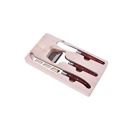 LAGUIOLE - Set de 3 cuchillos: para mantequilla y queso - Ca