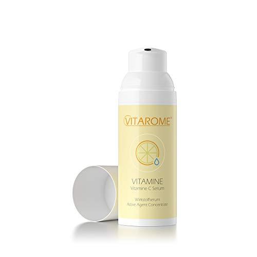 Vitarome VITAMINE Vitamin-C-Serum für natürliche Kollagensynthese, ohne Paraben, 50 ml