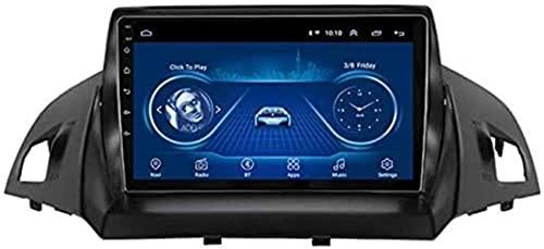 Stereo per Automobile Android GPS Sat Nav con lettore multimediale per Ford Kuga Escape C-max 2013-2016 Supporto/Bluetooth/USB/AUX/USB/LINK LINK/STERZO/CANBUS
