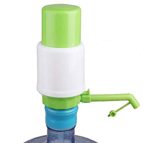 Wasserspender-Pumpe, Handpumpe für in Flaschen abgefülltes Trinkwasser (19 Liter), manuelle Pumpe, für Zuhause, Büro, Krankenhaus, Schule, Fabrik Free Size grün