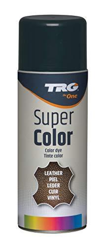 TRG The One - Tinte en Spray efecto Brillo para calzado de Piel y Piel Sintética | Ideal para Restaurar el color de Zapatos de Piel | Super Color High Gloss, 400ml