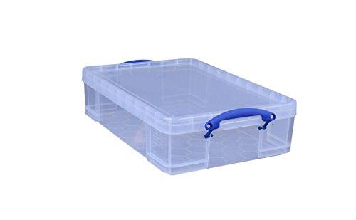 Really Useful Box 24,5c Aufbewahrungsbox 400x140x600 mm transparent