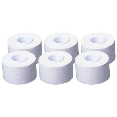 6 Rollen Cawila Sporttape, 3,8cm x 10m, weiß