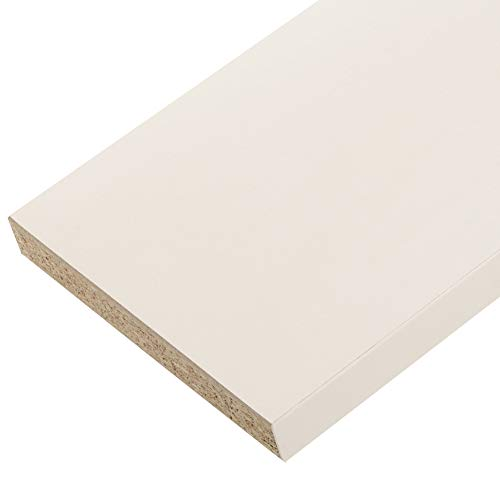 Plan de travail stratifié mélaminé Blanc 1800 x 600 EP 28 mm - PEFC 75%.
