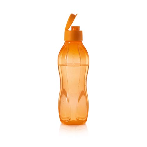 Botella con tapón ECO easy C193 Naranja flip Top 750 ml Tupperware EcoEasy nuevo