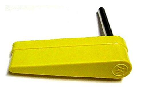 Williams Pinball Flipper and Shaft - Yellow