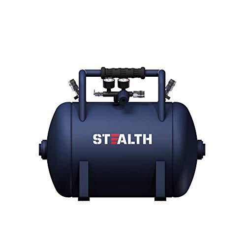 STEALTH Air Tank, High-Pressure 10-gallon Air Tank with Maximum 225PSI Pressure, Rubber Reinforced Handle Design (Blue, SAA-110T)