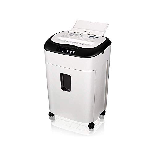 Find Discount Shredder Durable Electric Silent Paper Shredde Professional 60 Minutes Continuous Run ...