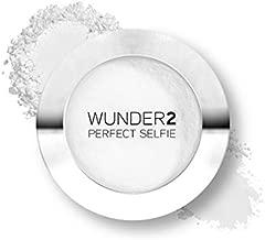Wunder2 PERFECT SELFIE Makeup Setting Powder HD Photo Finishing Pressed Compact Face Powder Mattifies Skin, Matte One Size, Translucent, 0.32 Oz
