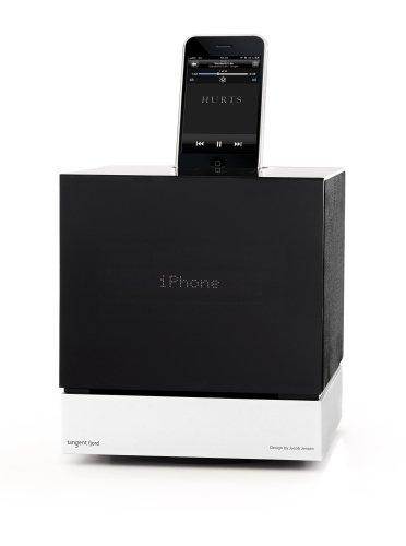 tangent Fjord CD / FM-Radio / iPod - iPhone Dock, DAB by Jacob Jensen