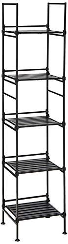 Neu Home Storage Shelf 5-Tier Square Espresso