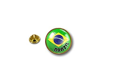 Spilla Pin pin's Spille spilletta Giacca Bandiera Badge Pallone Calcio Brasile