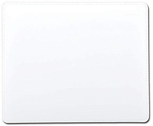 Speedlink Notary Soft Touch Mauspad - Mauspad mit Lederoptik, leicht zu Reinigen, weiche Oberfläche und ein genähter Rand, weiß