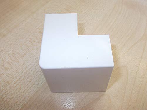 Innovo Ángulo Externo para unir PVC Autoadhesivo Mini Trunking 40mm x 25mm...