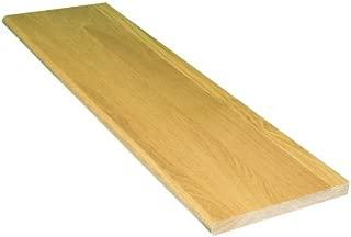 Stairtek 42 in. x 11-1/2 in. Pre-finished White Oak Tread