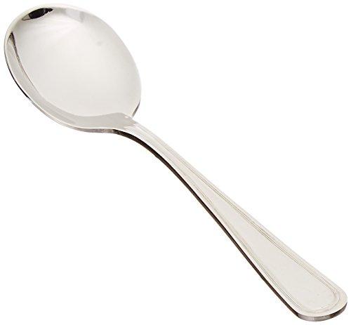 Winco Shangarila 12-Piece Bouillon Spoon Set, 18-8 Stainless Steel