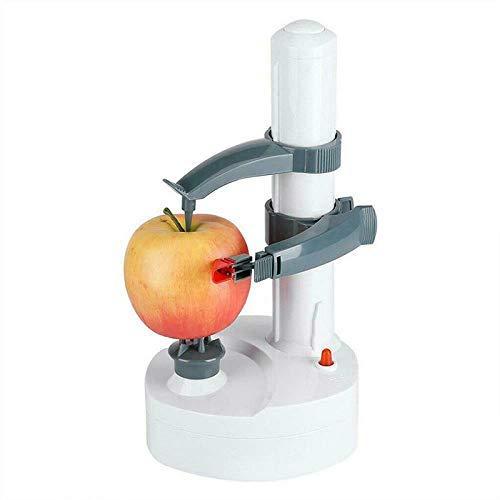 Reuvv Elektrisch Obst und Gemüseschäler, Multifunktional Automatisch Elektrisch Kartoffel Äpfel Abziehbare Maschine Schäler Gemüse Schneider Küche Abziehbare Werkzeug - C
