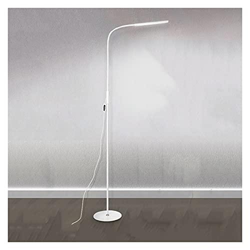 Lámpara de Mesita Lámpara de pie LED simple moderna, 3 modos de color y lámpara especial de atenuación continua para la lámpara de lectura vertical de práctica de piano, c-abrazadera y control remoto